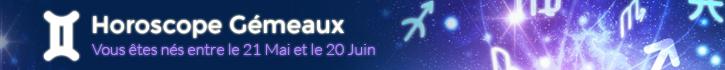 Horoscope Gémeaux avril 2021